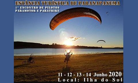 1º Encontro de Pilotos Paramotor e Paratrike – Paranapanema