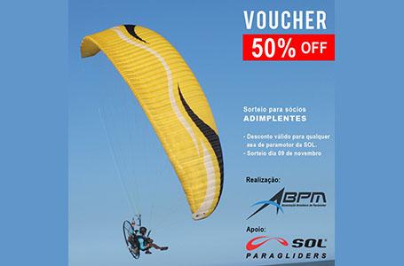 Sorteio de Voucher – Sol Paragliders